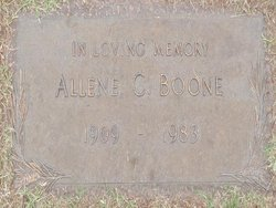 Allene C. Boone