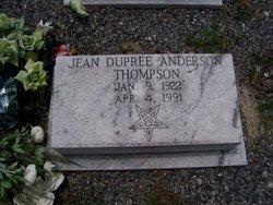 Jean Carolyn <i>Dupree</i> Anderson