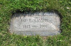 Fay Ellen <i>Winegardner</i> Cassidy