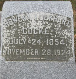Mrs Rowena Lockhart <i>Hudson</i> Cocke