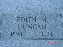 Edith M. <i>Crary</i> Duncan