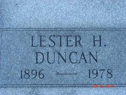 Lester H. Duncan
