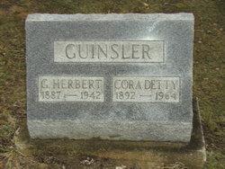Cora Lois Cory <i>Detty</i> Guinsler
