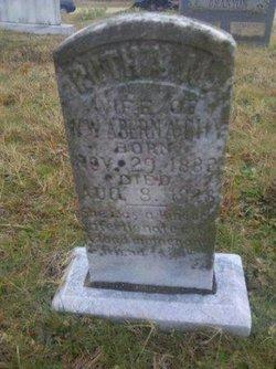 Ruthie Melvine <i>Adams</i> Abernathy