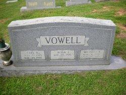Carl Edward Vowell