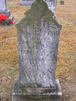 Benjamin C. Ford