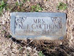 Nancy Jane <i>Mullican</i> Cawthon
