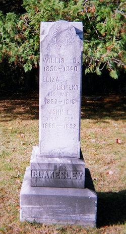 Eliza <i>Clement</i> Blakesley