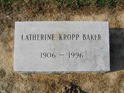 Catherine Mary <i>Kropp</i> Baker
