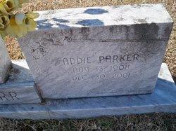 Addie <i>Parker</i> Carr
