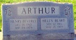Henry Beverly Arthur