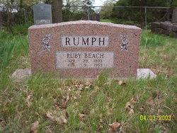 Ruby <i>Beach</i> Rumph