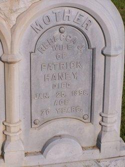 Rebecca J <i>Brackney</i> Haney