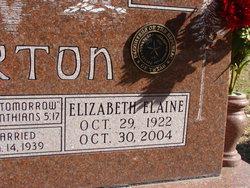 Elizabeth Elaine <i>Rhodes</i> Barton