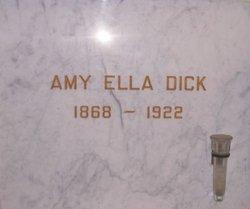 Amy Ella <i>Phillips</i> Dick