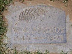 William Warren McAboy