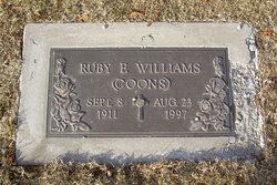Ruby F <i>Dailey</i> Williams Coons