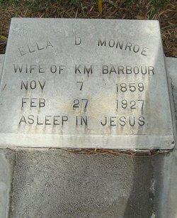 Ella D <i>Monroe</i> Barbour