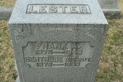 Gertrude Lester