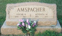 Alverta M Amspacher