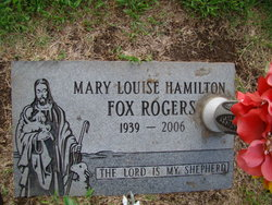 Mary Louise <i>Hamilton</i> Rogers