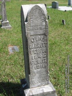 Pvt James H. Barnett