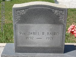 Rev Jabel Robert Baird