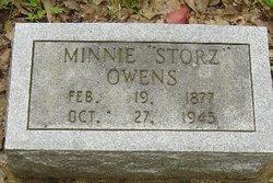 Minnie <i>Storz</i> Owens