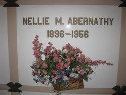 Nellie M <i>Clingman</i> Abernathy