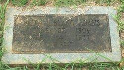 Helen <i>LeBlanc</i> Adams