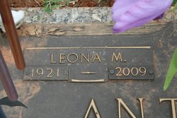 Leona Mary <i>Huffstetler</i> Anthony