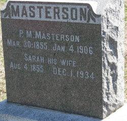 Sarah Elizabeth <i>Carpenter</i> Masterson