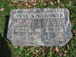 Anna A Alexander