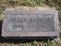 Julia <i>Lang</i> Barker