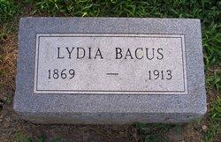 Lydia <i>Spittler</i> Baccus