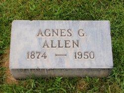 Agnes Gertrude <i>Henry</i> Allen