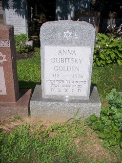 Anna <i>Dubitsky</i> Golden