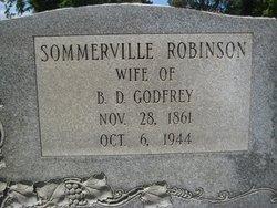 Mrs Sommerville Virginia Sommer <i>Robinson</i> Godfrey