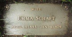 Emma <i>Trapp</i> Schaft