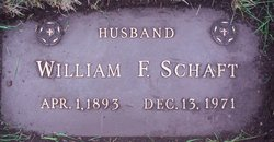 William F. Schaft