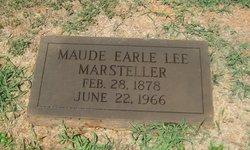 Mrs Maude Earle <i>Lee</i> Marsteller