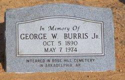 George Washington Wash Burris, Jr