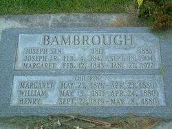 Margaret <i>Charlton</i> Bambrough
