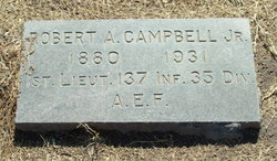 Maj Robert A Campbell, Jr