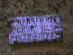 Hannah Rosetta <i>Ranck</i> Churchill