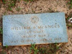 William A. McAngus