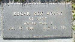 Edgar Rex Adams