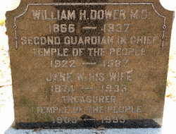 Dr William H Red Star Dower