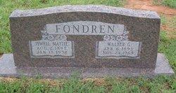 Walter G Fondren