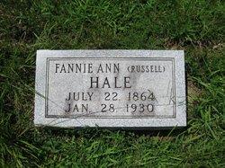Fannie Ann <i>Russell</i> Hale